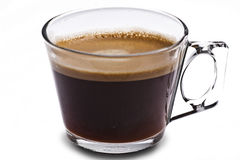 Cup of black coffe Royalty Free Stock Photo