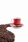 A cup of black coffee Stock Image