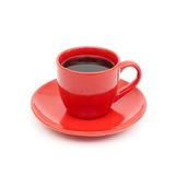 Cup of black coffee Stock Photography