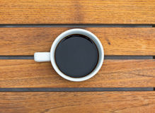 A cup of black coffee Royalty Free Stock Photos