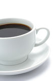 A cup of black coffee Stock Photos