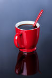 Cup of black coffee, Royalty Free Stock Image