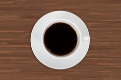 Cup of Black Coffee Drink Royalty Free Stock Photos