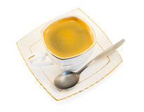 Cup of black coffee Royalty Free Stock Photography