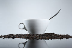 Cup of black tea Stock Image