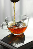 Cup of black tea Royalty Free Stock Photography