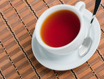 Cup of black tea Royalty Free Stock Image