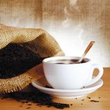 Cup of Black Tea Royalty Free Stock Photos