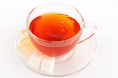 A cup of black tea Stock Photo