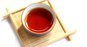A cup of black tea Royalty Free Stock Image