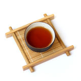 A cup of black tea Royalty Free Stock Images