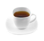 Cup of black tea Stock Images