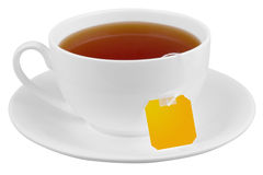 Cup with black tea Royalty Free Stock Image