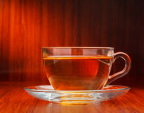 Cup of black tea Royalty Free Stock Images