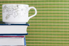 cup book Royalty Free Stock Photography