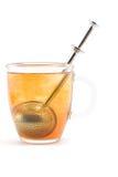 Cup of brewing tea