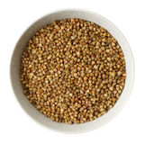 Cup of  buckwheat Royalty Free Stock Photo