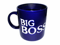 Cup of business man Royalty Free Stock Photos
