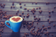 Cup of coffee Stock Images
