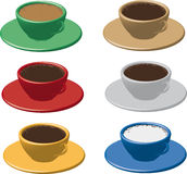Cup of cafe Royalty Free Stock Image