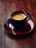 Cup of Cafe Crema Royalty Free Stock Photography