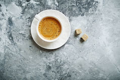 Cup of Cafe Crema Stock Image