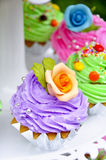 Cup cake Stock Images