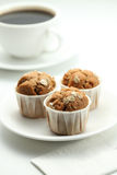 Cup cake. Afternoon tea with cup cakes Royalty Free Stock Image