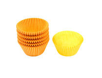 Cup cake cases Stock Images