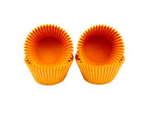 Cup cake cases Royalty Free Stock Images