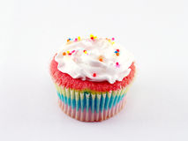 Closeup colorful cup cake Royalty Free Stock Photography