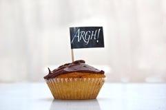 Cup-cake del partito fotografia stock