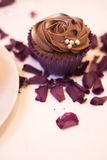 Cup cake dessert in wedding party Stock Photography