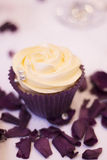 Cup cake dessert in wedding party Stock Images