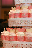 Cup cake on display. Stock Photography