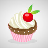 Cup cake icons great for any use. Vector EPS10. Stock Images