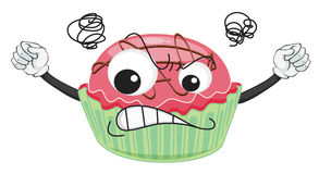 A cup cake Stock Images