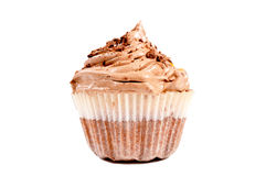 Cup cake isolated Stock Photo