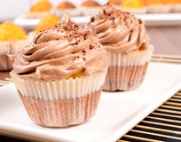 Cup cake pair Royalty Free Stock Photography