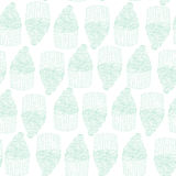 Cup cake seamless pattern Royalty Free Stock Photography