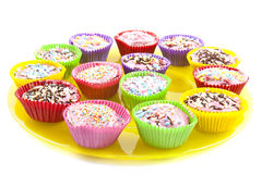 Cup cake treat Stock Photos