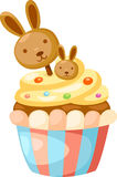 Cup cake vector Royalty Free Stock Photography