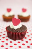 Cup cakes royalty free stock images