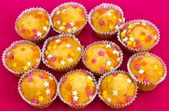 decorated buns Stock Images