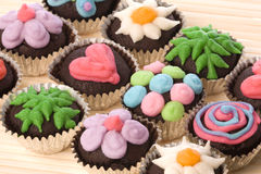 Cup Cakes Isolated Royalty Free Stock Image