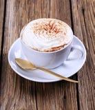 Cup Cappuccino stockfoto