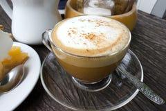 Cup Cappuccino Lizenzfreies Stockfoto