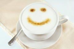 A cup of cappuccino Stock Photos