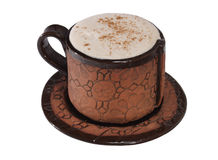 A cup of  cappuccino Stock Photography
