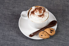 Cup Cappuccino Stockbild